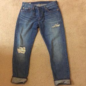 Women's Levi's 501 blue jeans size 27